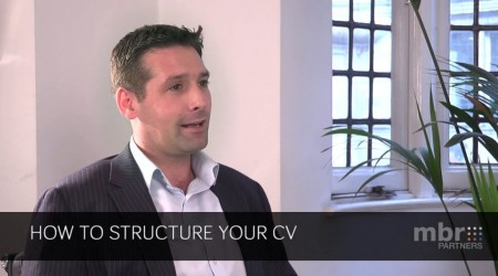 How to Structure your CV
