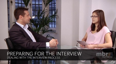 Dealing with the interview process